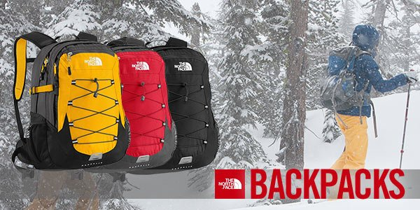 Backpacks from The North Face