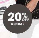 20% OFF DENIM