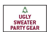 Shop Ugly Sweater Party Gear