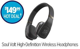 Soul Volt High-Definition Wireless Headphones - $149.99 - HOT DEAL