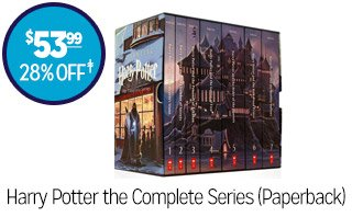 Harry Potter the Complete Series (Paperback) - $53.99 - 28% off‡