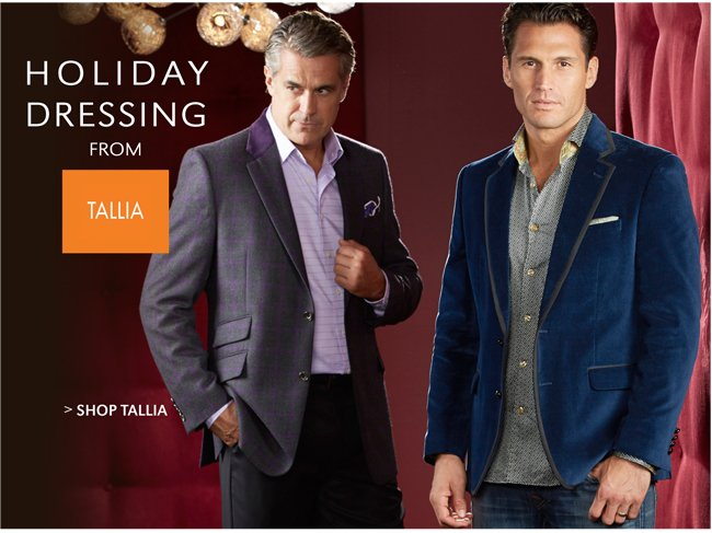 HOLIDAY DRESSING FROM TALLIA | SHOP TALLIA