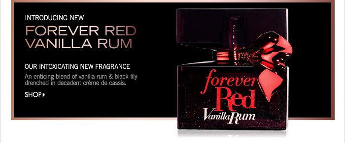 NEW! Forever Red Vanilla Rum