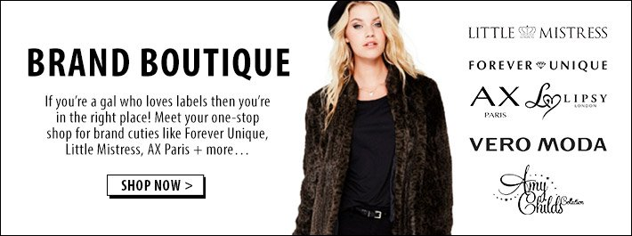 Brand Boutique - Your one-stop shop for brands like Forever Unique and AX Paris