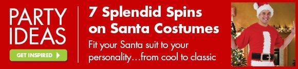 7 Splendid Spins on Santa Costumes