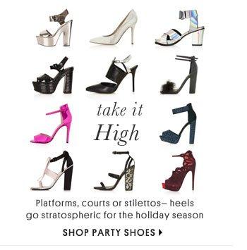 Take It High - Shop Party Shoes