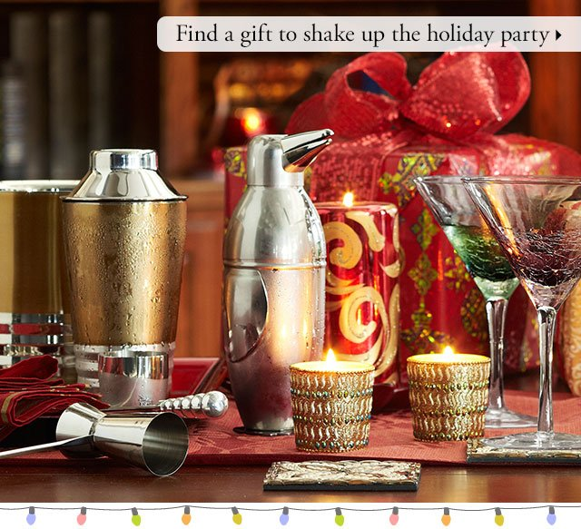 Find a gift to shake up the holiday party