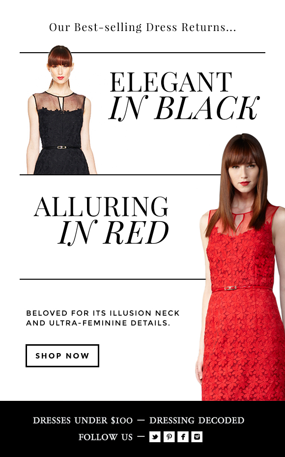 Our Best-Selling Dress RETURNS!