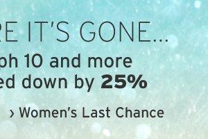Women's Last Chance