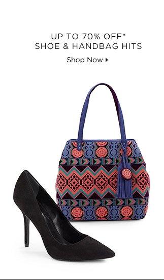 Up To 70% Off Shoe & Handbag Hits