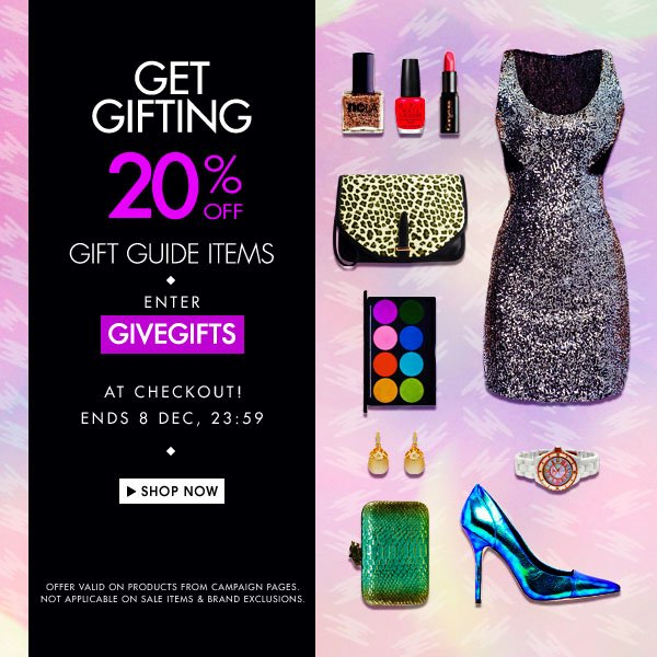 20% off gift guide