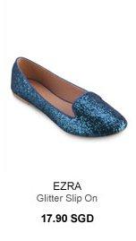 EZRA Glitter Slip On