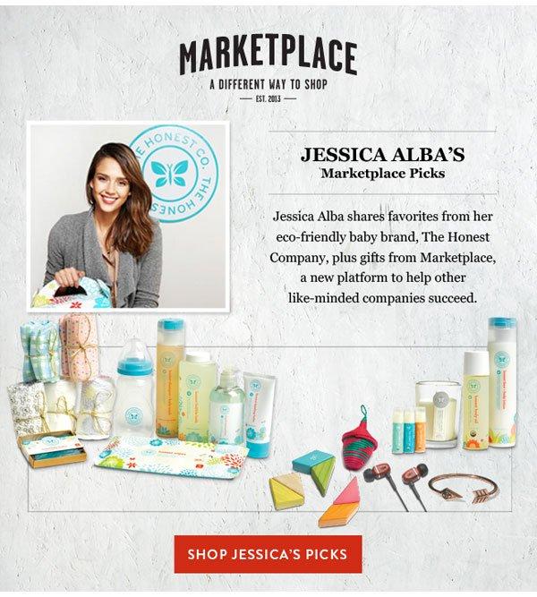 Marketplace - Jessica Alba's Picks