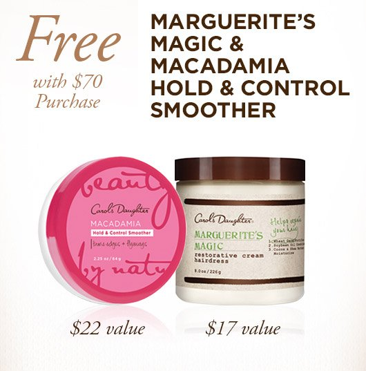 Free Marguerite's Magic with $70 Purchase