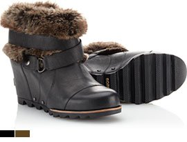Joan of Arctic Wedge Ankle