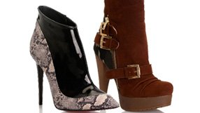 High KC Shoes and Booties