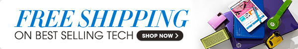 FREE SHIPPING ON BEST SELLING TECH - SHOP NOW