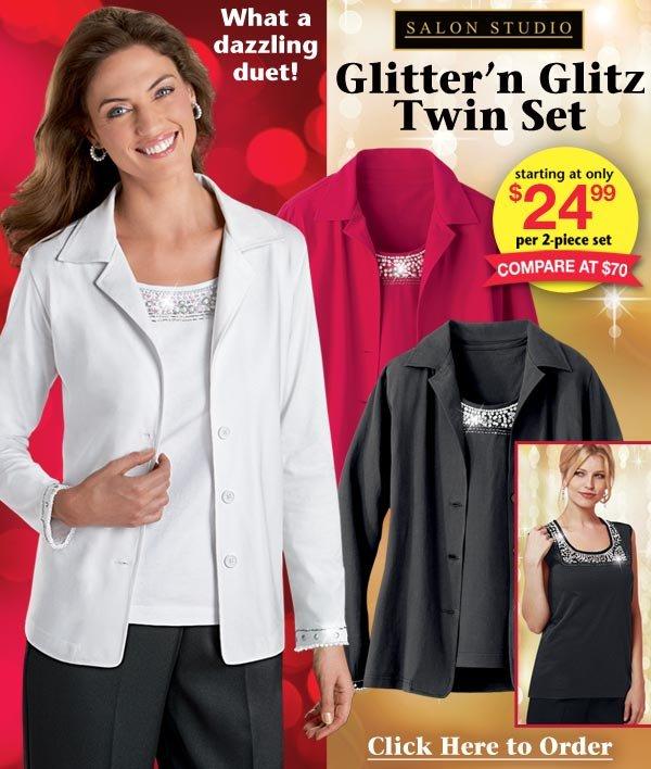 Glitter'n Glitz Twin Set