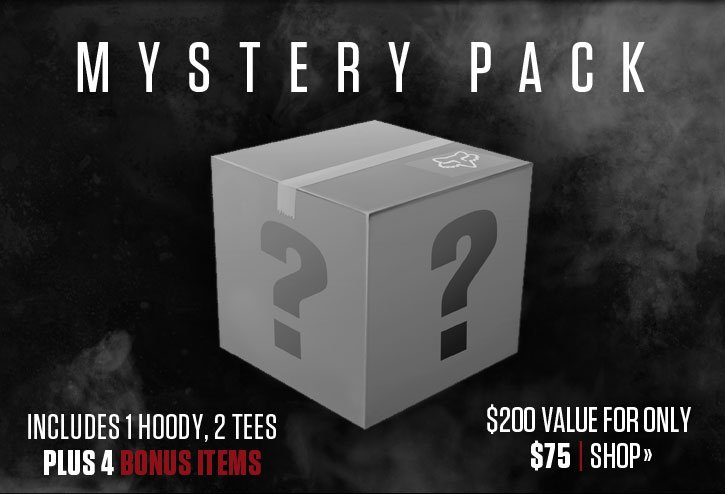 Mystery Pack | $200 Value for Only $75