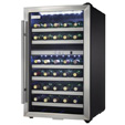 Danby 38 Bottle Dual Zone Wine Cooler - Stainless Steel/Black