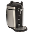 Koldfront Deluxe Mini Kegerator for Non-Pressurized Kegs - SST & Blk