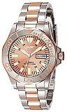 Invicta Signature Men's Two Tone Rose Automatic Dive Watch 7049