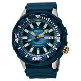 Seiko SRP453 Men's Blue Monster Superior Blue Dial Air Diver's Automatic Watch