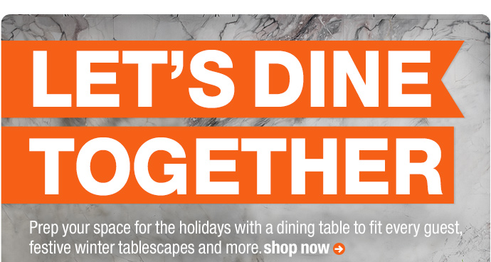 let's dine together
