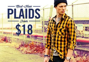Shop Must-Have Plaids from $18