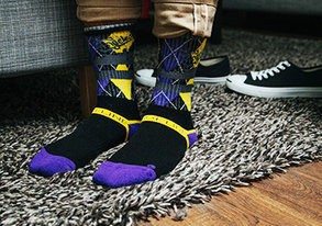 Shop Patterned Socks ft. NBA from $10