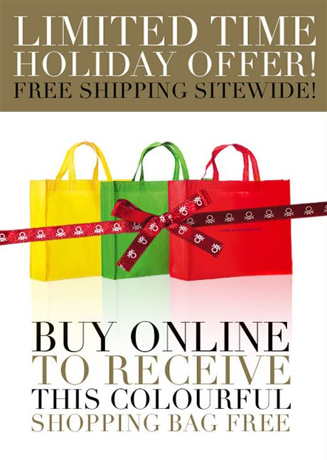 Shop for gifts and receive a colorful tote bag!