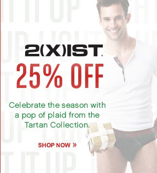 25% Off 2xist!