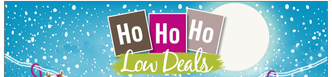 Ho Ho Ho Low Deals