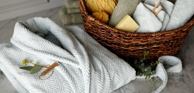 Freshen the Bath for Guests: Towels & More