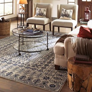 Surya Cozy Rugs in Winter Hues