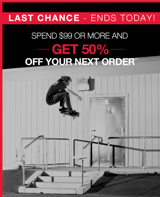 Last chance - Ends today!