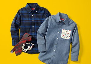 Rival Crews: Boys' Shirts & Ties