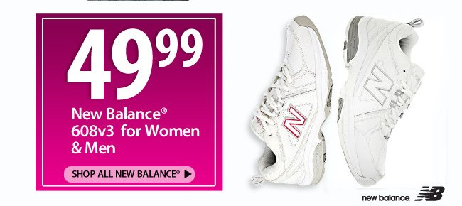 49.99 New Balance Shoes for Women and Men
