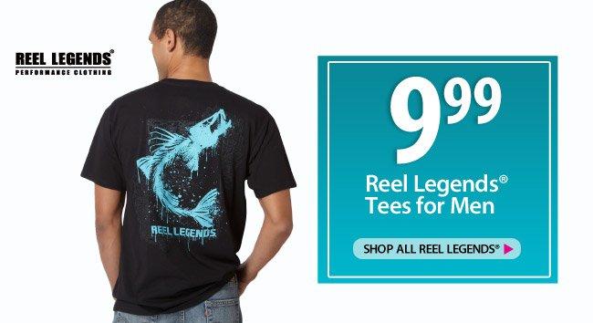 9.99 Reel Legends Tees for Men