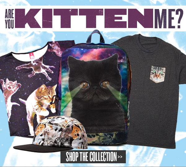 Are you kitten me? Shop Cats at Journeys!