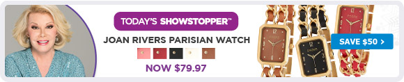 Joan Rivers Parisian Watch