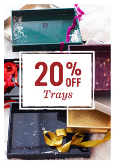 20% off trays