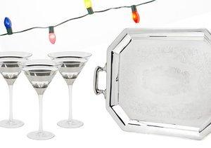Silver Bells: Drinkware & Serveware