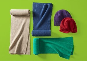 Cold-Weather Cashmere Accessories
