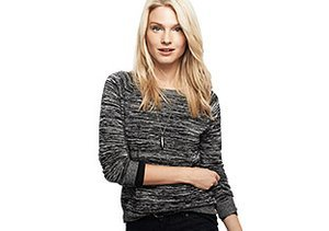Up to 80% Off: Black & White Knits