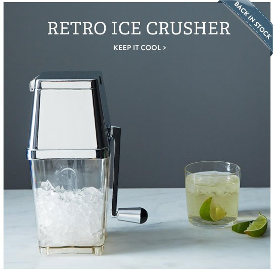 Retro Ice Crusher