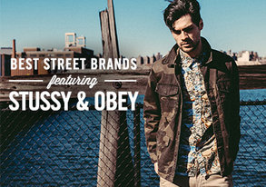 Shop Best Street Brands ft. Stussy & OBEY