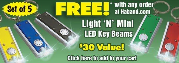 FREE* LED Key Beams