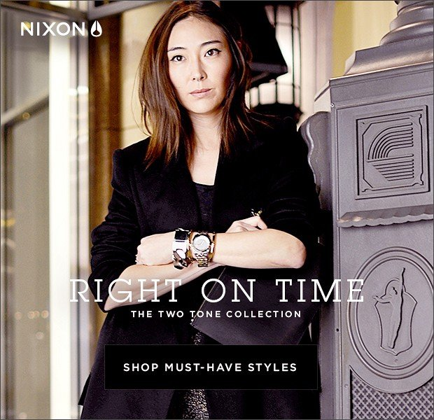 Just In Time: Shop Nixon's Watch Collection