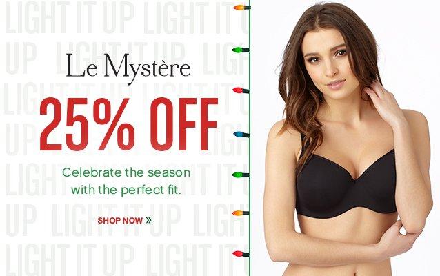 25% OFF Le Mystere! Shop Now